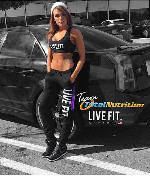 Total Nutrition Sacramento Live Fit Apparel