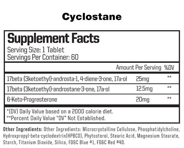 anabolic warfare-cyclostane-facts