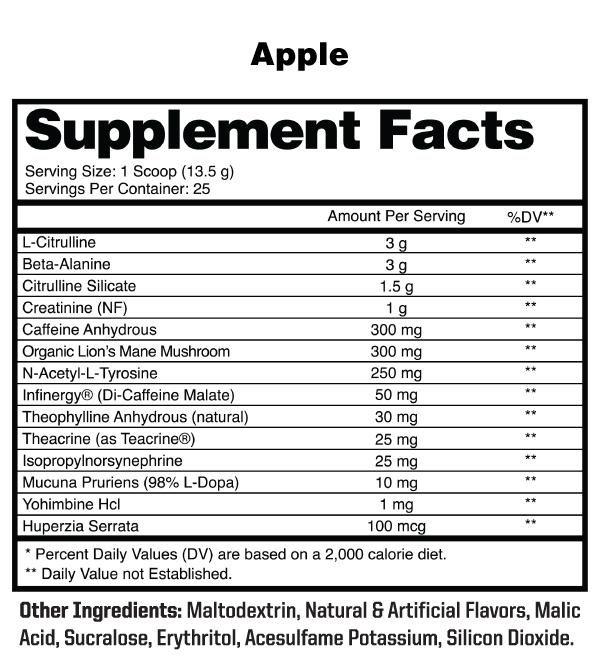 anabolic warfare-maniac-apple-facts