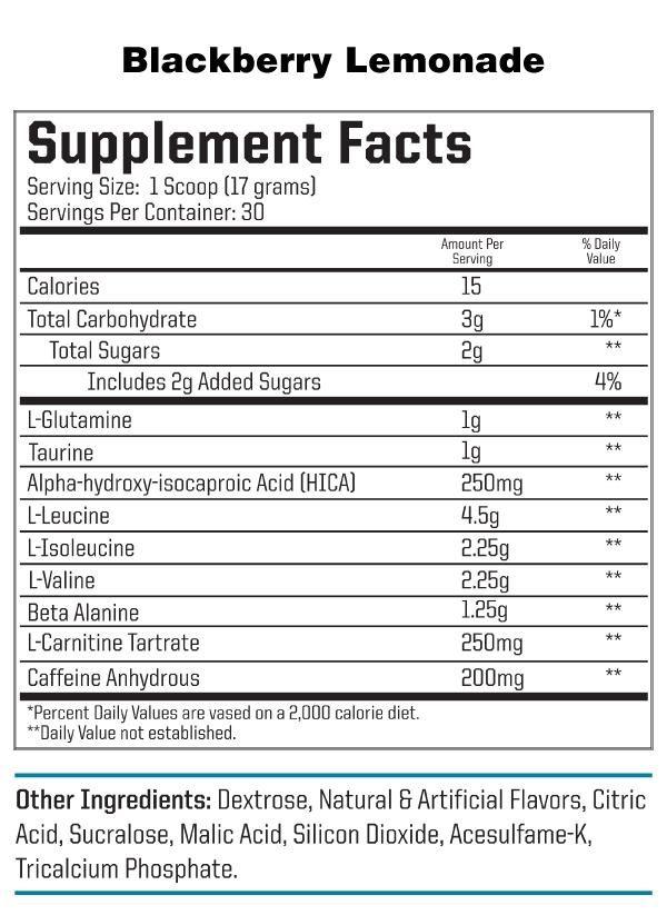 nutraone-aminonrgone-blackberry-lemonade-facts