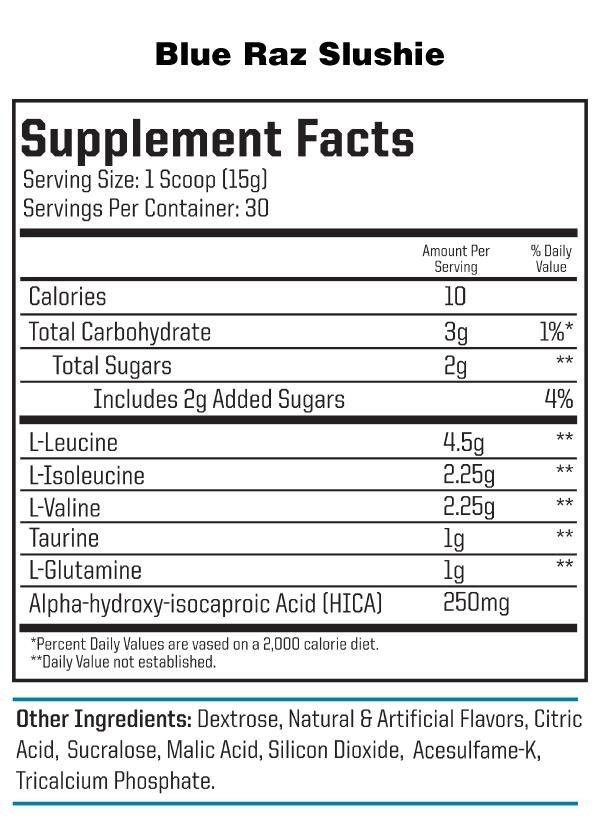 nutraone-aminoone-blue-raz-slushie-facts