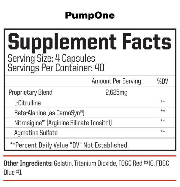 nutraone-pumpone--facts